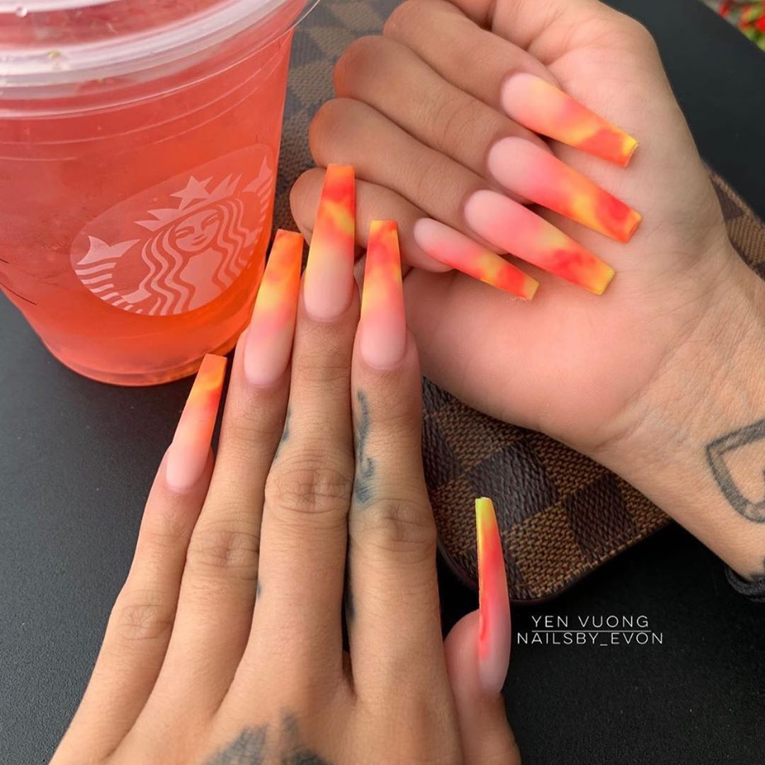 Follow Us Nailscrush Follow Us Beautynailsclip Follow Us Nailsclipstrendy Long Acrylic Nail Designs Coffin Nails Designs Long Acrylic Nails
