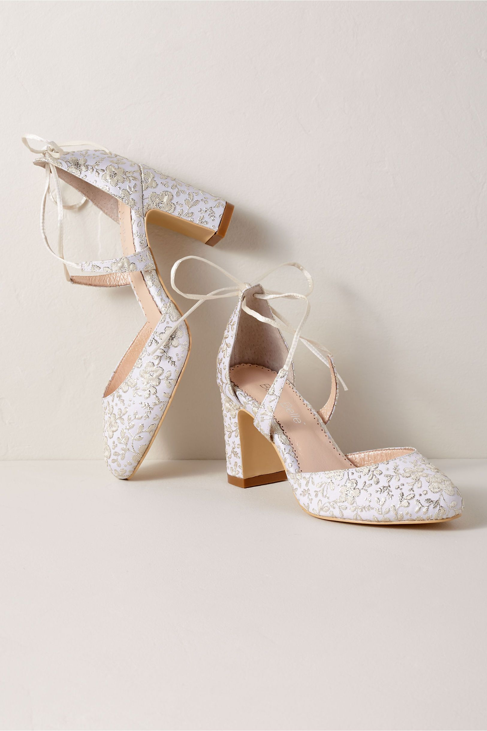 c18891e22a6f BHLDN's Bella Belle Sadie Block Heels in Oyster | Products in 2019 ...