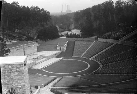 Berlin: Reichssportfeld; Dietrich Eckart-Freilichtbühne (1936)Heute die Waldbuehne...