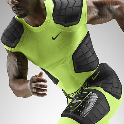 ef50a01bd7a Nike Pro Combat Hyperstrong Compress Hard Plate 3 4 Girdle Pads Football  Pants