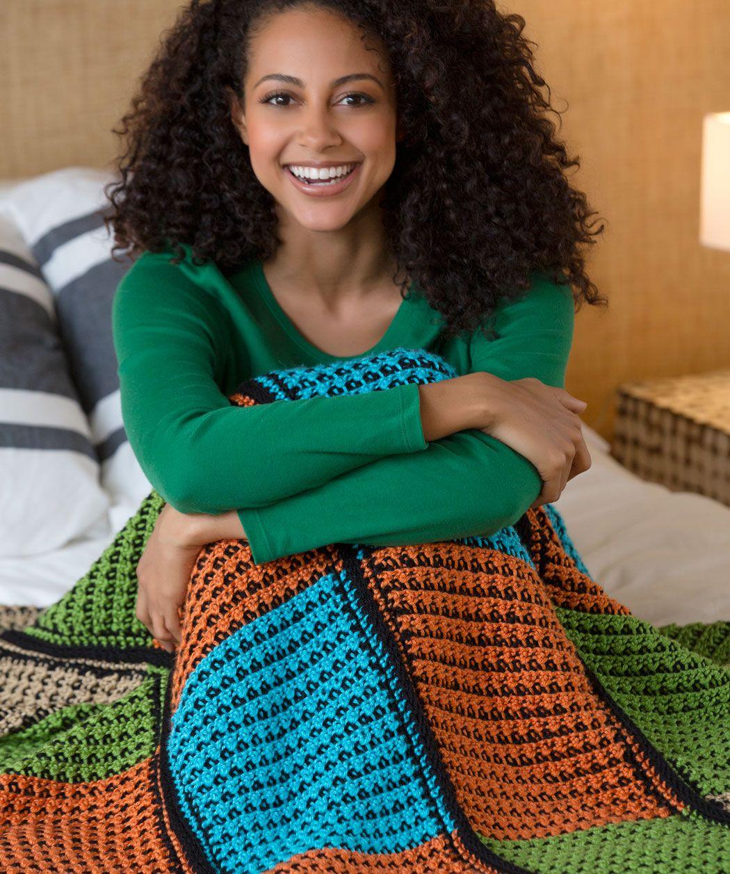 Double the fun throw free pattern crochet blanketafghan love double the fun throw free pattern bankloansurffo Choice Image