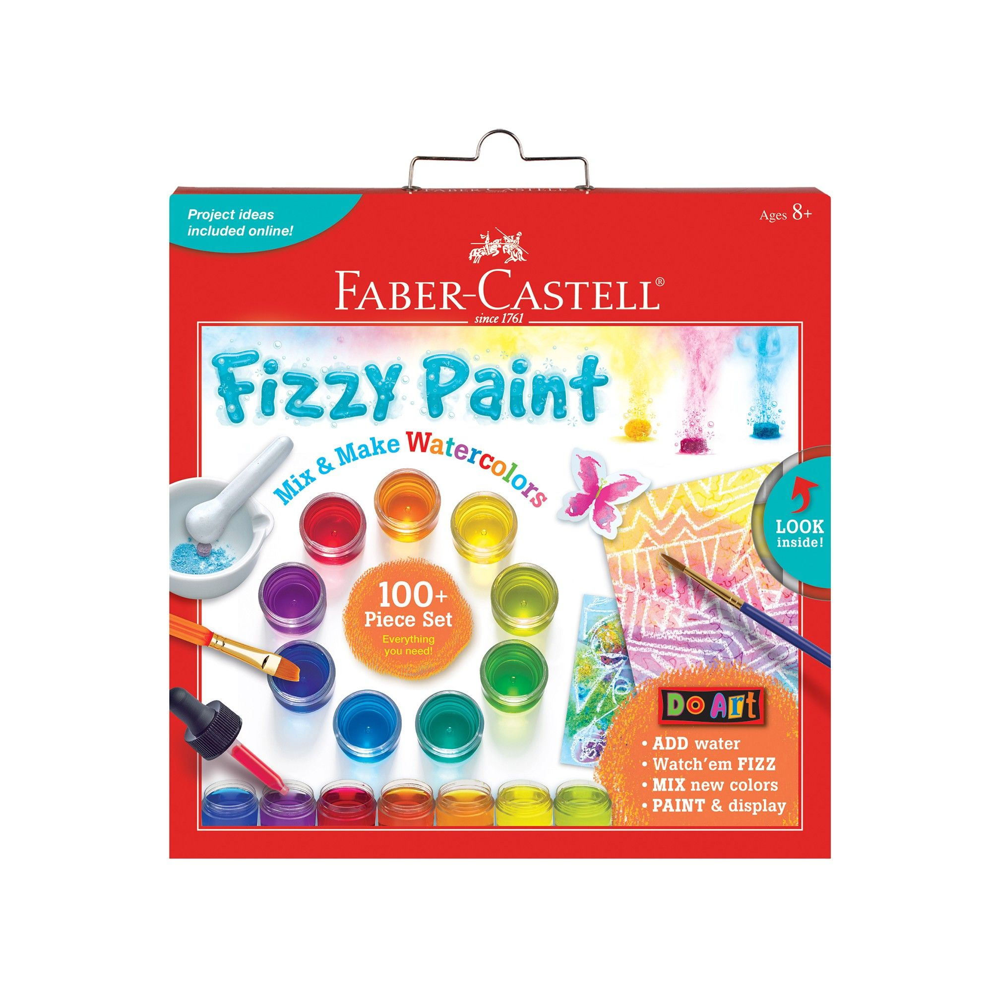 Faber Castell Fizzy Paint Watercolor Kit Watercolor Kit Make