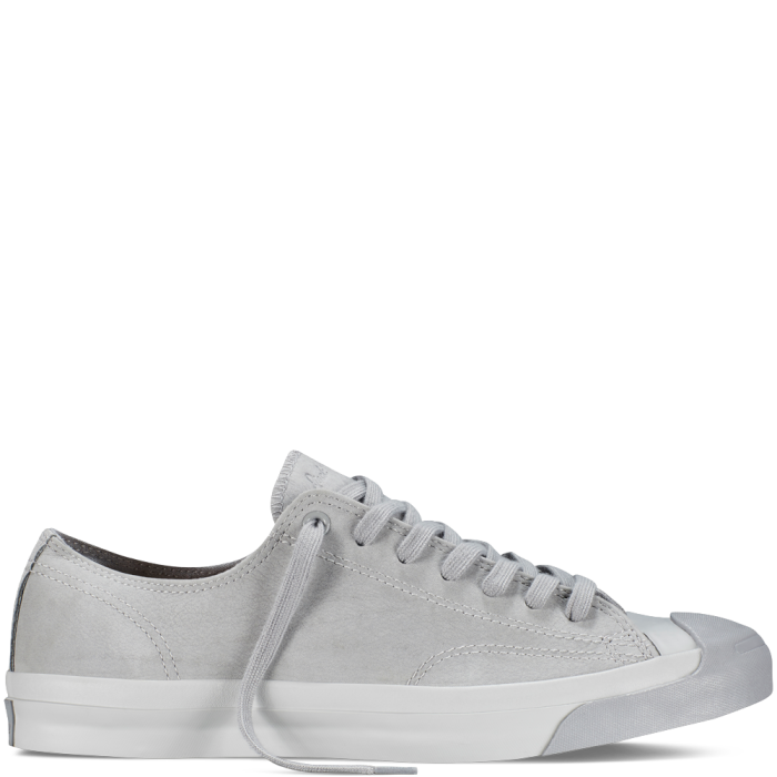 bea1ba12d96997 Converse – Jack Purcell Monochrome Leather – Dolphin – Low Top ...