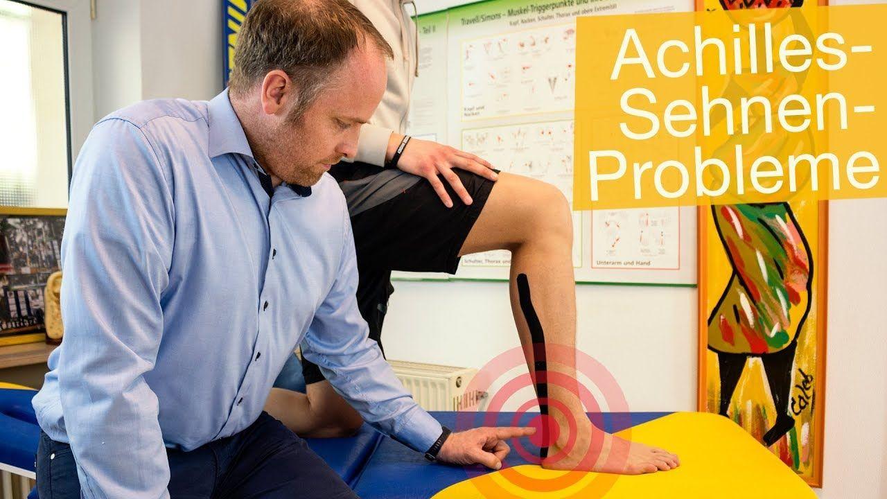 Schmerzen in der Achillessehne ⚡️Untersuchung | Übungen