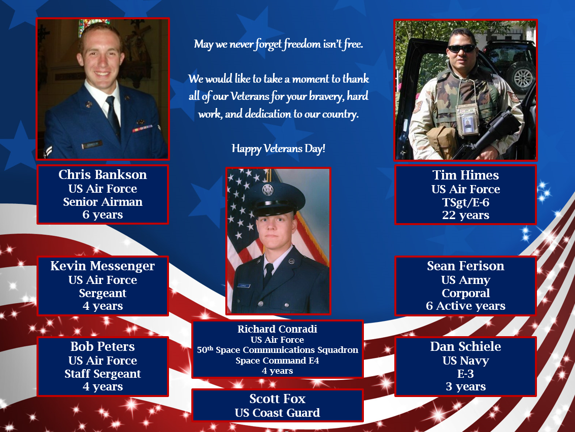 Happy Veterans Day from PioneerRx! We'd like to recognize