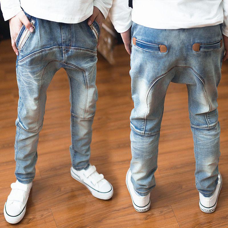 2016 Spring Autumn Children Clothes 3 14 Years Old Fashiong Kids Boys Jeans Pantalones De Hombre Moda Pantalones Para Ninos Pantalones Bebe