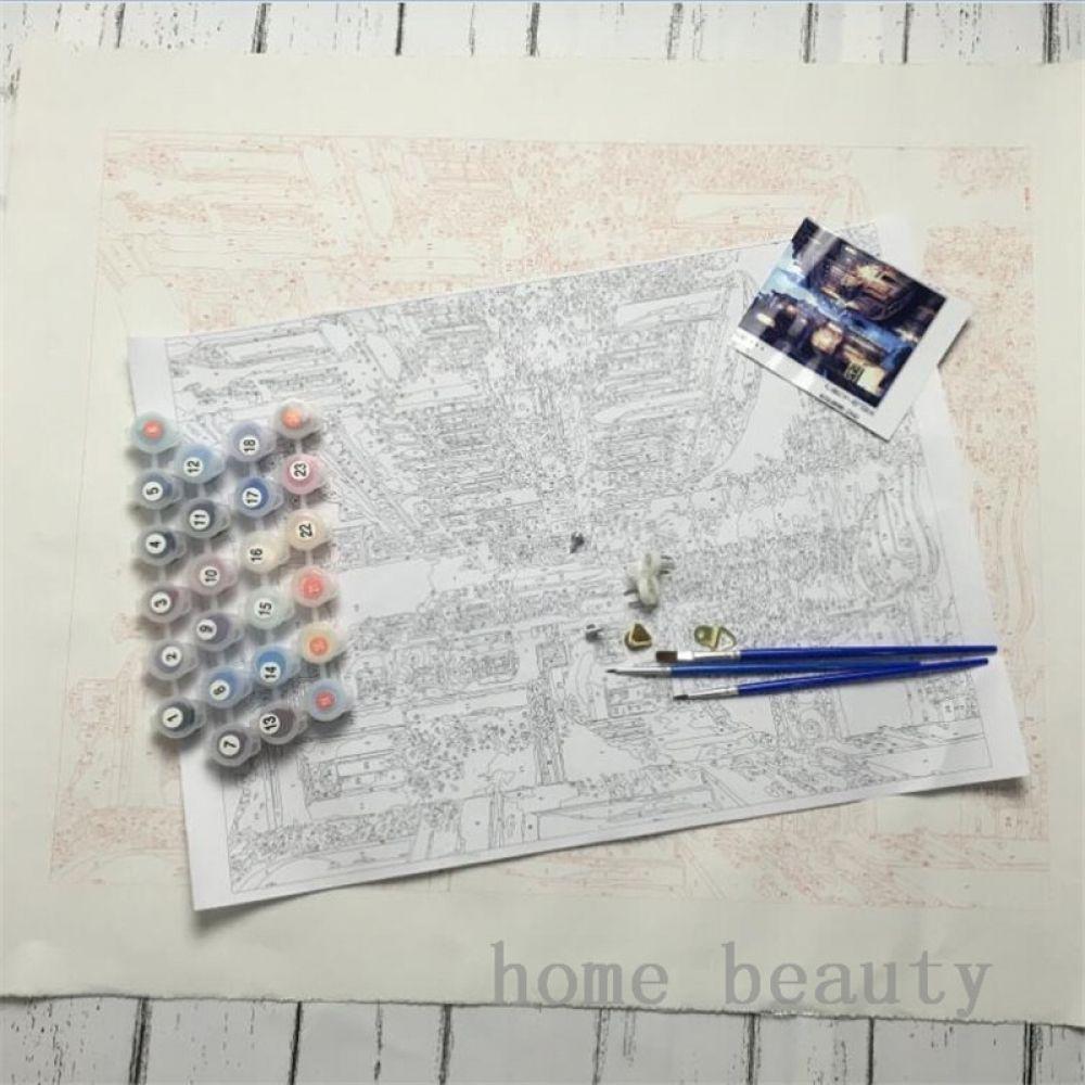 Van-Go Paint-By-Number Kit Beauty