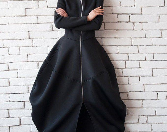 Schwarzen Kaftan Kleid - Strand Kaftan - Maxi Kleid - Boho - lange schwarze - Schwarze Kaftan - Kaftan #ankaramode