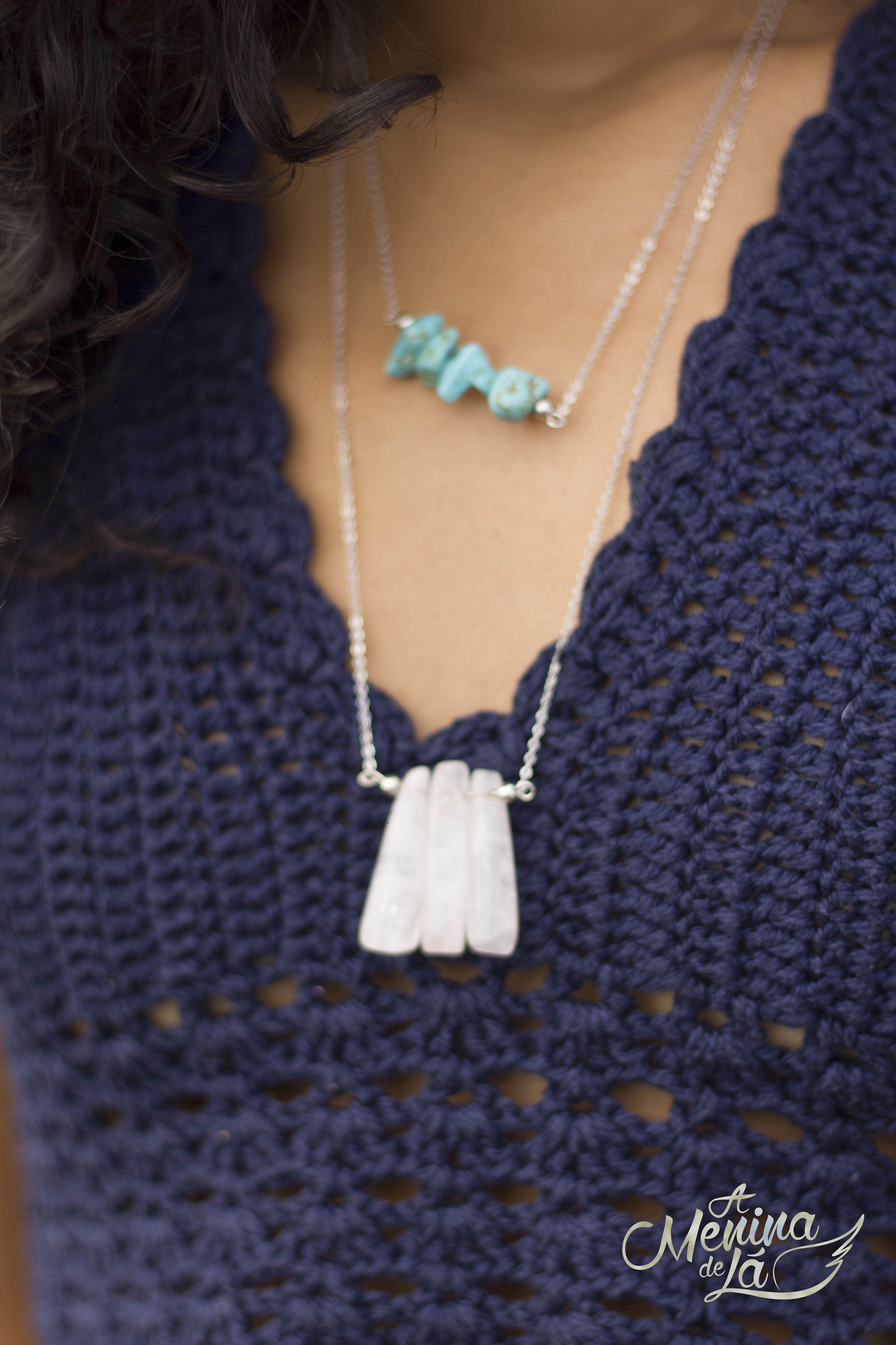 """""""Terra"""" é a coleção de acessórios outono - inverno 2015 da A Menina de Lá.  Com inspiração nas tendências boho 377f8936104"""