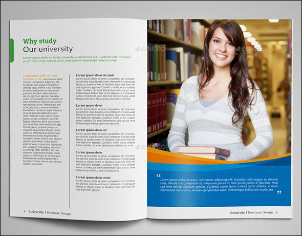 20+Free Education Brochure PSD Templates Brochures, Brochure - university brochure template