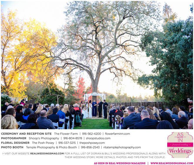 Sacramento Wedding Inspiration: Dorian & Bill {From The