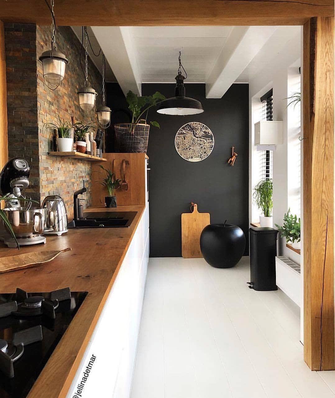 """Interior Design & Decor on Instagram: """"Kitchen by @jellinadetmar � #kitchen #design #interior #interiors #interiordesign #design #decor"""""""