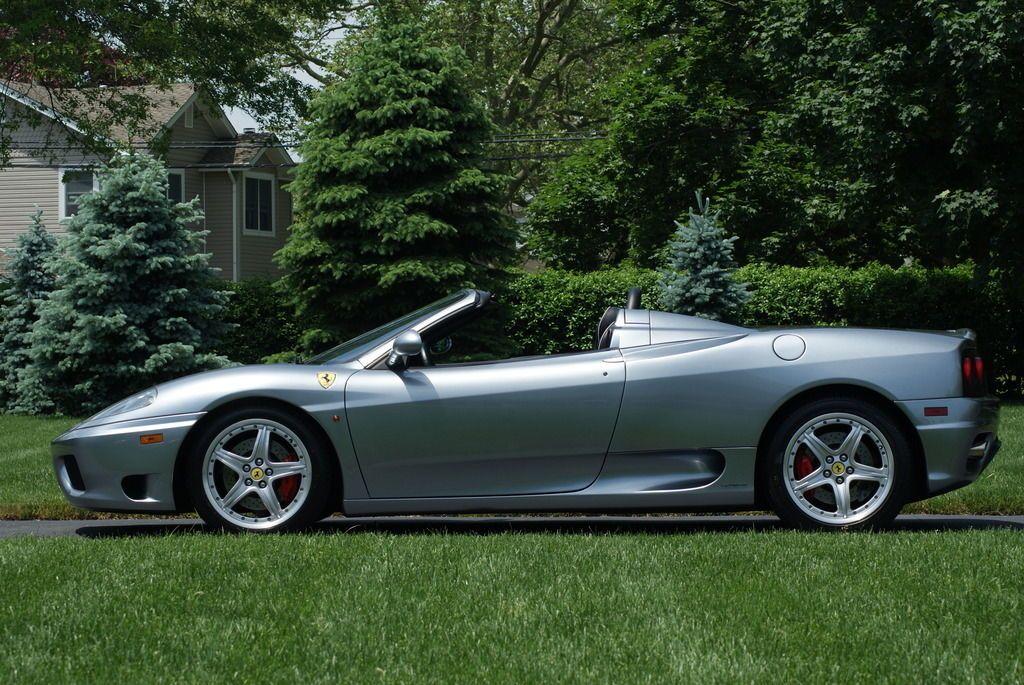 Car Brand Auctioned Ferrari 360 Spider Convertible 2 Door 2004 Car