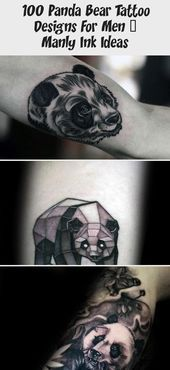 100 Panda Bear Tattoo Designs For Men  Manly Ink Ideas  Tattoo Blog  Realist 100 Panda Bear Tattoo Designs für Männer  Manly Ink Ideas  Tattoo Blog  Realistisch...