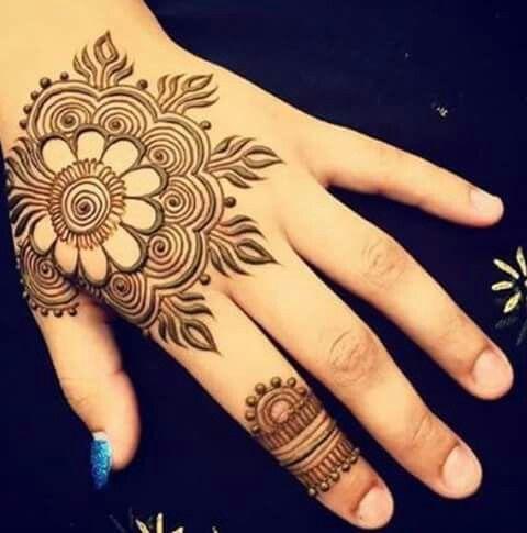 Hand Mandala Taruana Henna Designs Mehndi Designs Henna