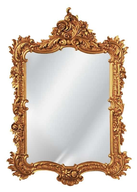 Elegant Wall Mirror Antique Reproduction in 60 Colors