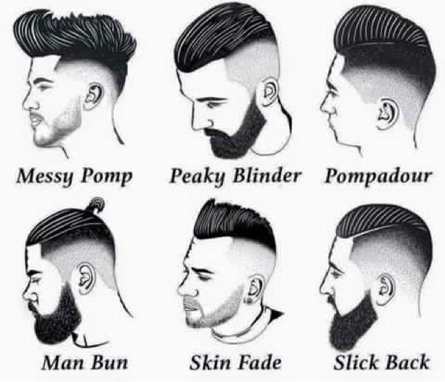 cortes de cabello para hombre nombres y estilos para que elijas el que mejor