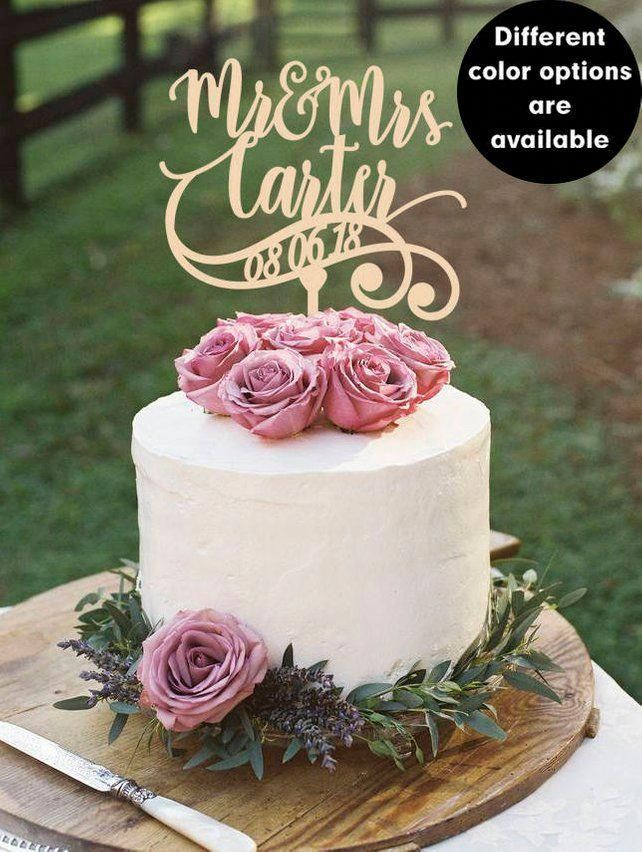 floral wedding cakes Ribbons