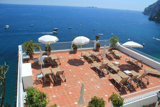 The Sun Terrace At Marincanto Hotel Positano