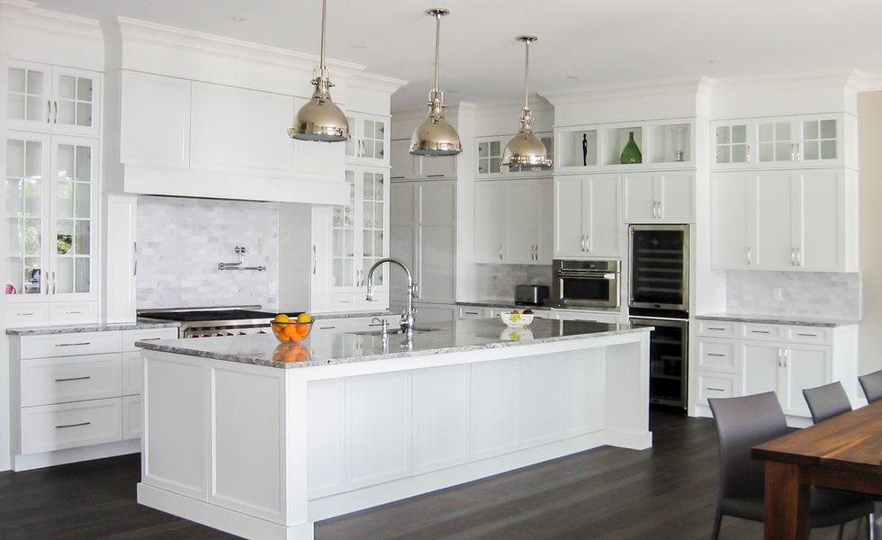 armoires de cuisine blanches - Recherche Google ...