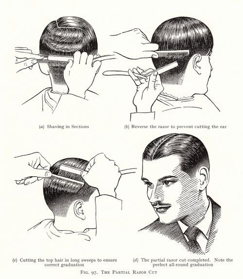1920's men's hairstyle how-to