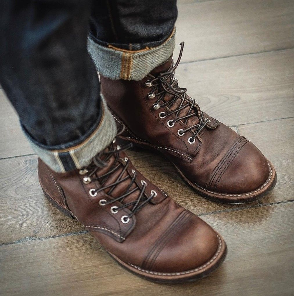 Redwing wednesday t hyde pinterest red wing iron ranger