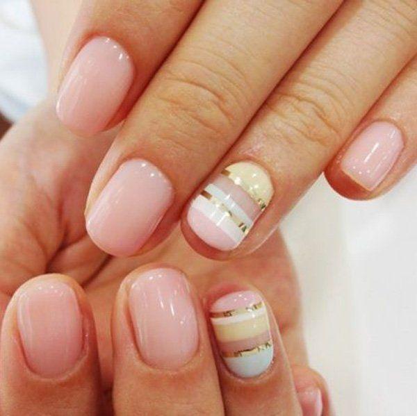 55 gorgeous metallic nail art designs metallic nails white 55 gorgeous metallic nail art designs prinsesfo Images