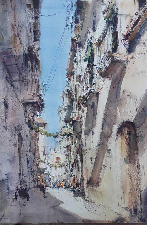 Old Street, Spanish Town - Alejandro Miras