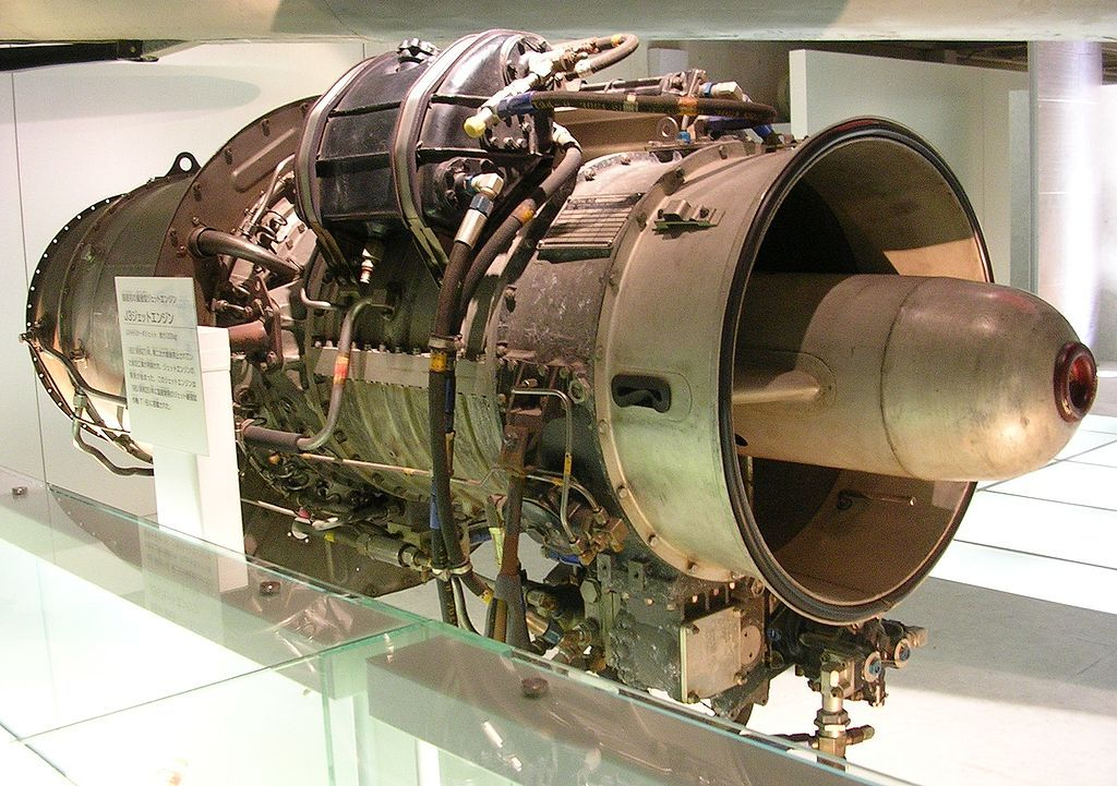 The Ishikawajima-Harima J3 was a Japanese turbojet aircraft engine. It was the first jet engine designed and built in Japan after the Second World War and was used to power the Fuji T-1 trainer and as a booster engine in the Kawasaki P-2J patrol aircraft.A more powerful version of the J3, the J3-IHI-7 was used to re-engine the T-1Bs and as booster engines for the Kawasaki P-2J maritime patrol aircraft.
