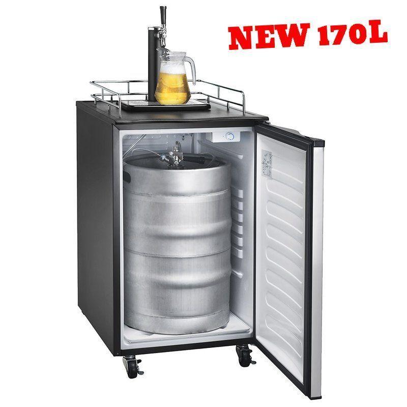 Kegerator For Sale >> Large Kegerator Tower Tap Kit Beer Dispenser Faucet Drip Tray Keg