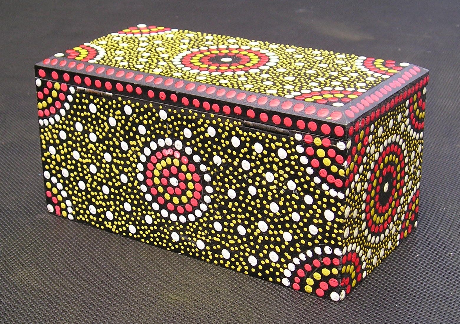 Memory Box Paint Idea Hand Painted Wooden Box Mom Box Painted Boxes