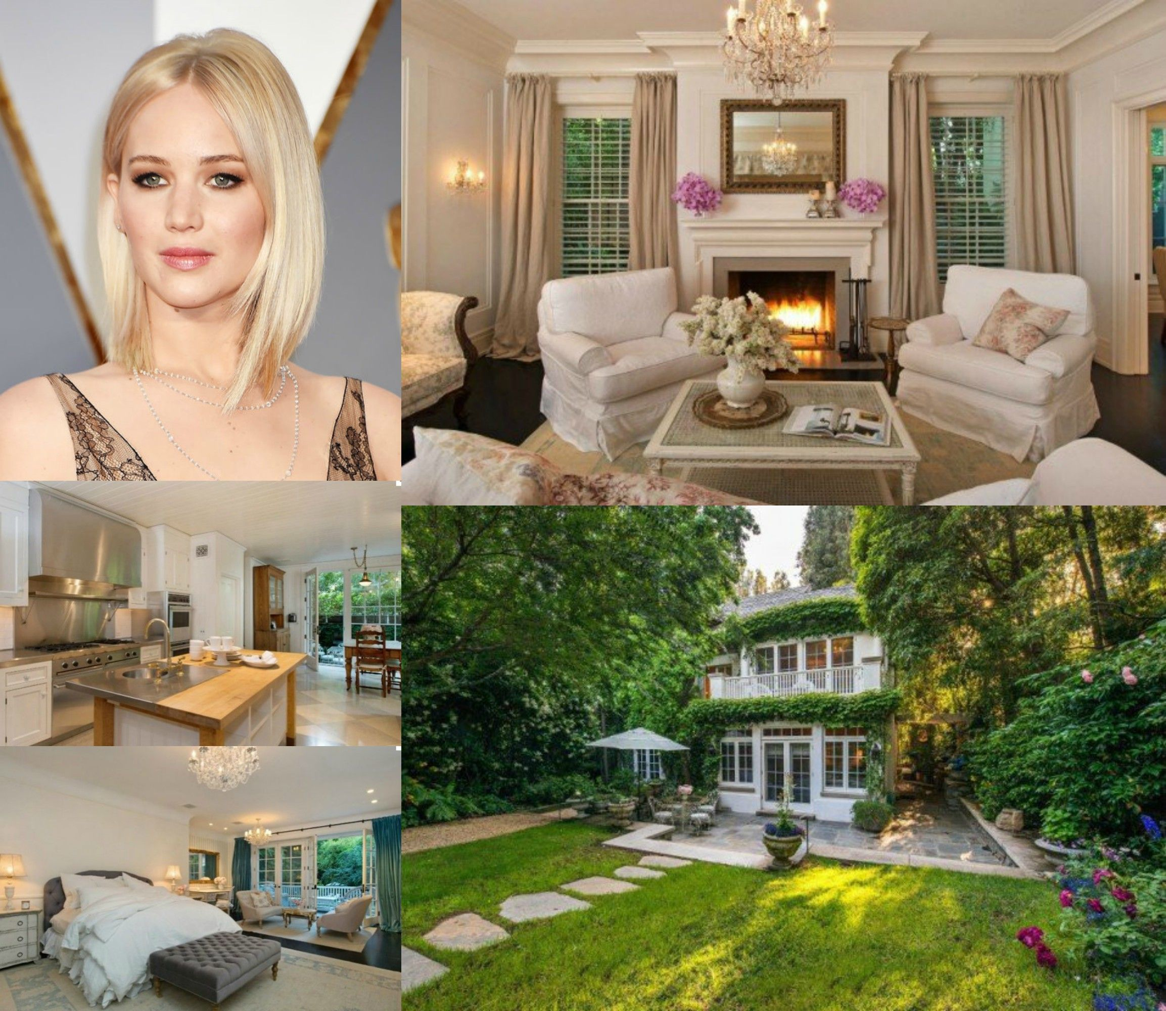 Image result for Jennifer Lawrence's Beverly Hills Home