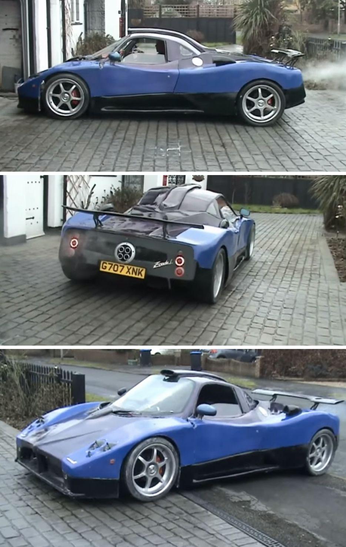 Man Makes Replica 1 Million Supercar From 100 Ford Granada Ford Granada Super Cars Dream Cars