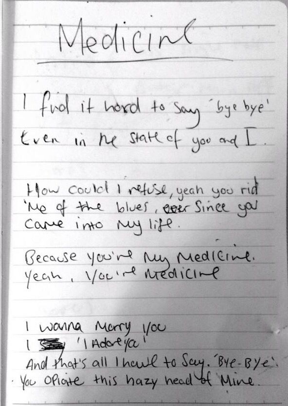 Medicine In 2020 The 1975 Lyrics The 1975 Lyrics