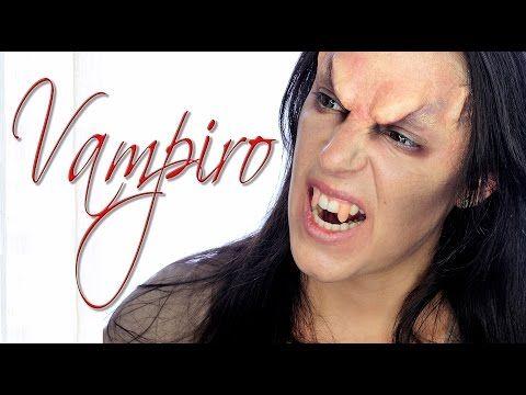Tutorial maquillaje vampiro enfadado para hombre Silvia Quiros
