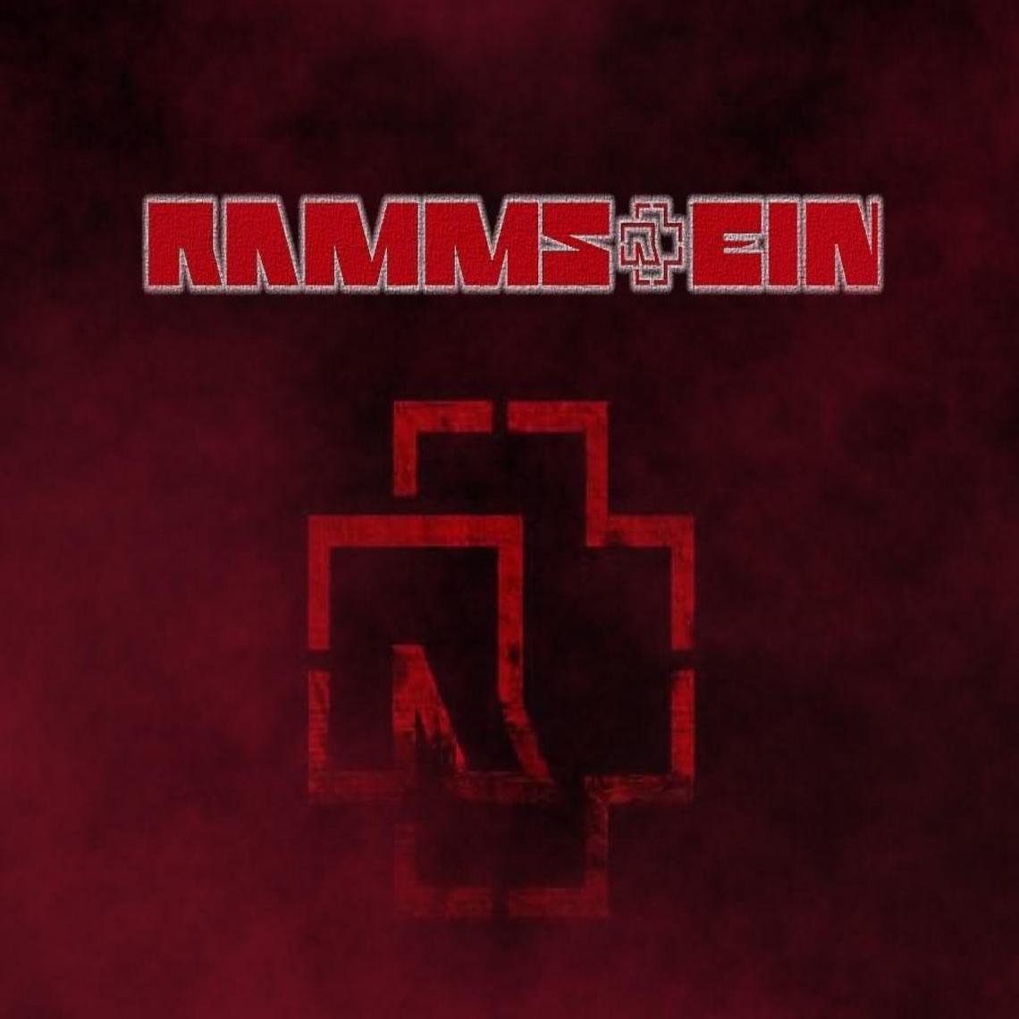 Rammstein Logo Red