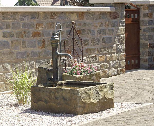 springbrunnen garten selber bauen – bankroute, Garten und Bauten