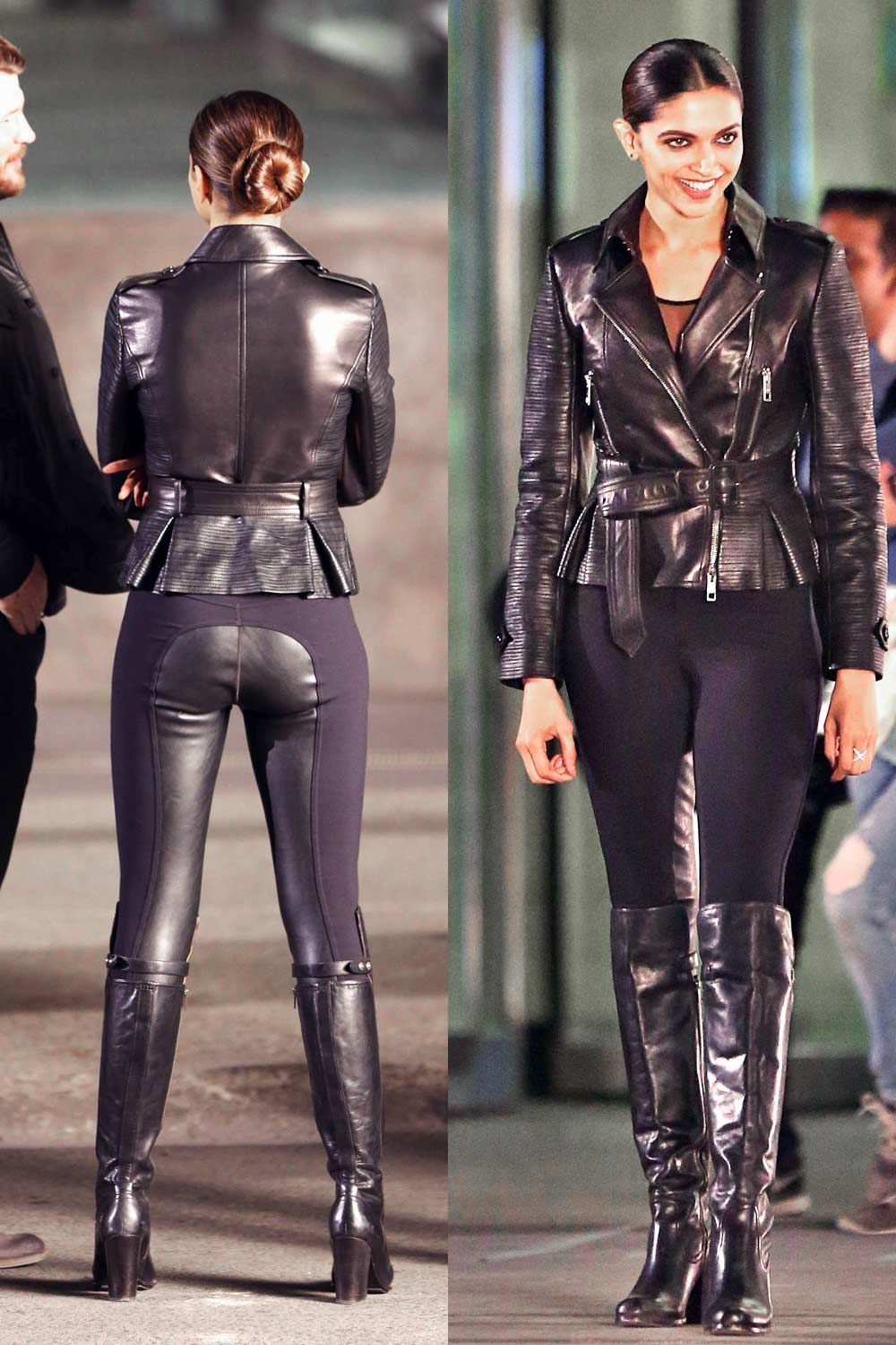 Dominant Leather Gorgeous Women In Leather