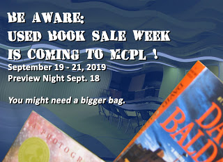 Be Aware Used Book Sale Week Is Coming To Mt Clemens Public Library Book Sale Genealogy Groups Used Books