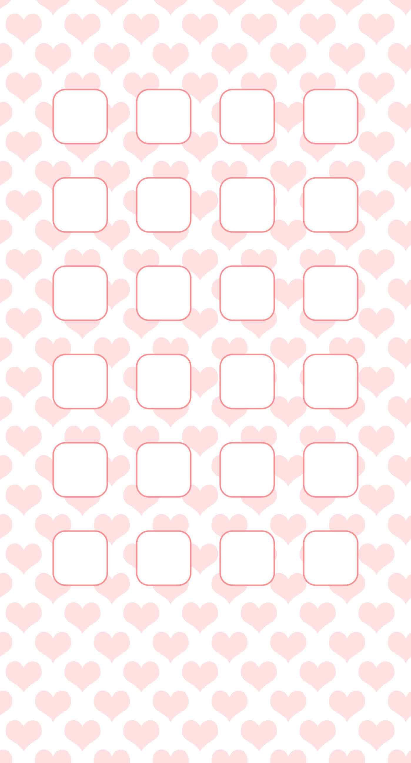 Heart Pattern For Girls Pink Shelf