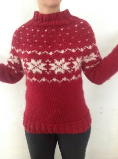 Tangs univers: Sweater med fair isle-strik