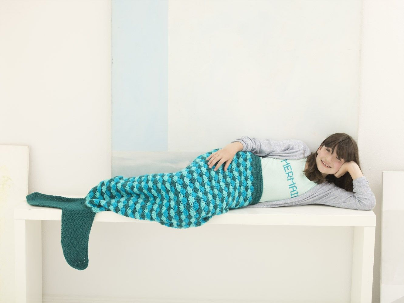 Mermaid Tail Cocoon (Crochet) | Crochet for Baby and Children ...