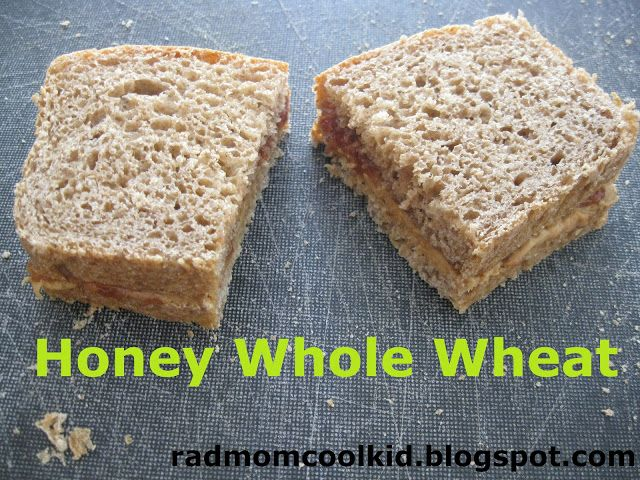RAD mom COOL kid: honey whole wheat bread