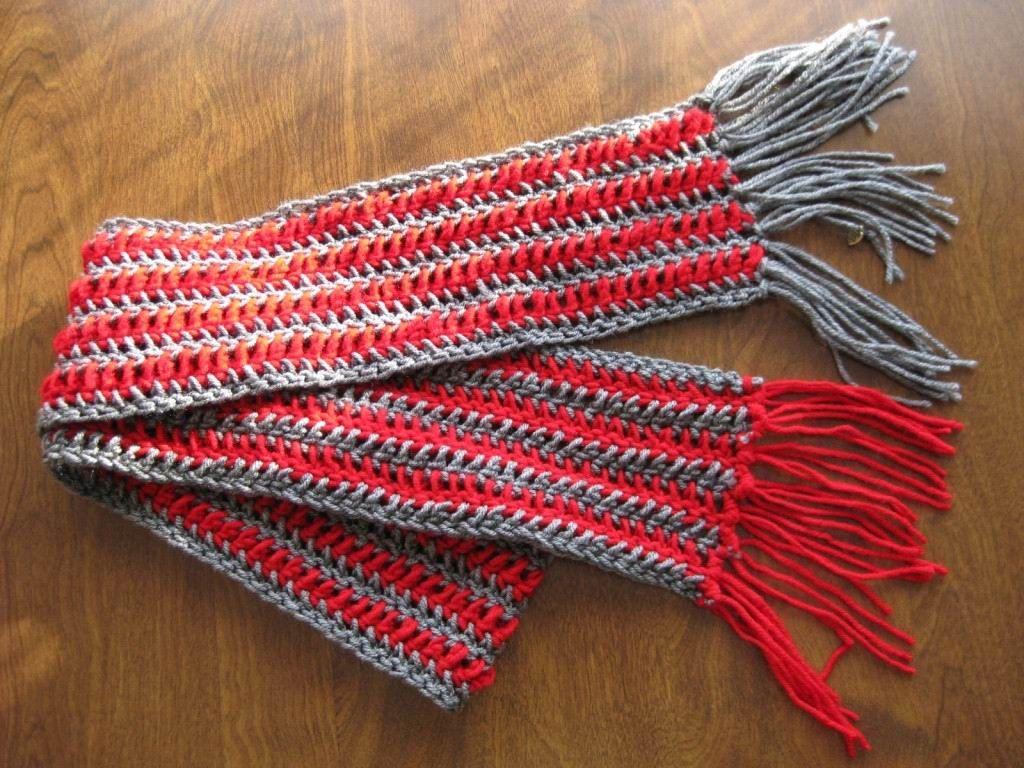 Grey+ideas+for+crochet | Single Crochet Scarf Pattern Ideas | Trendy ...
