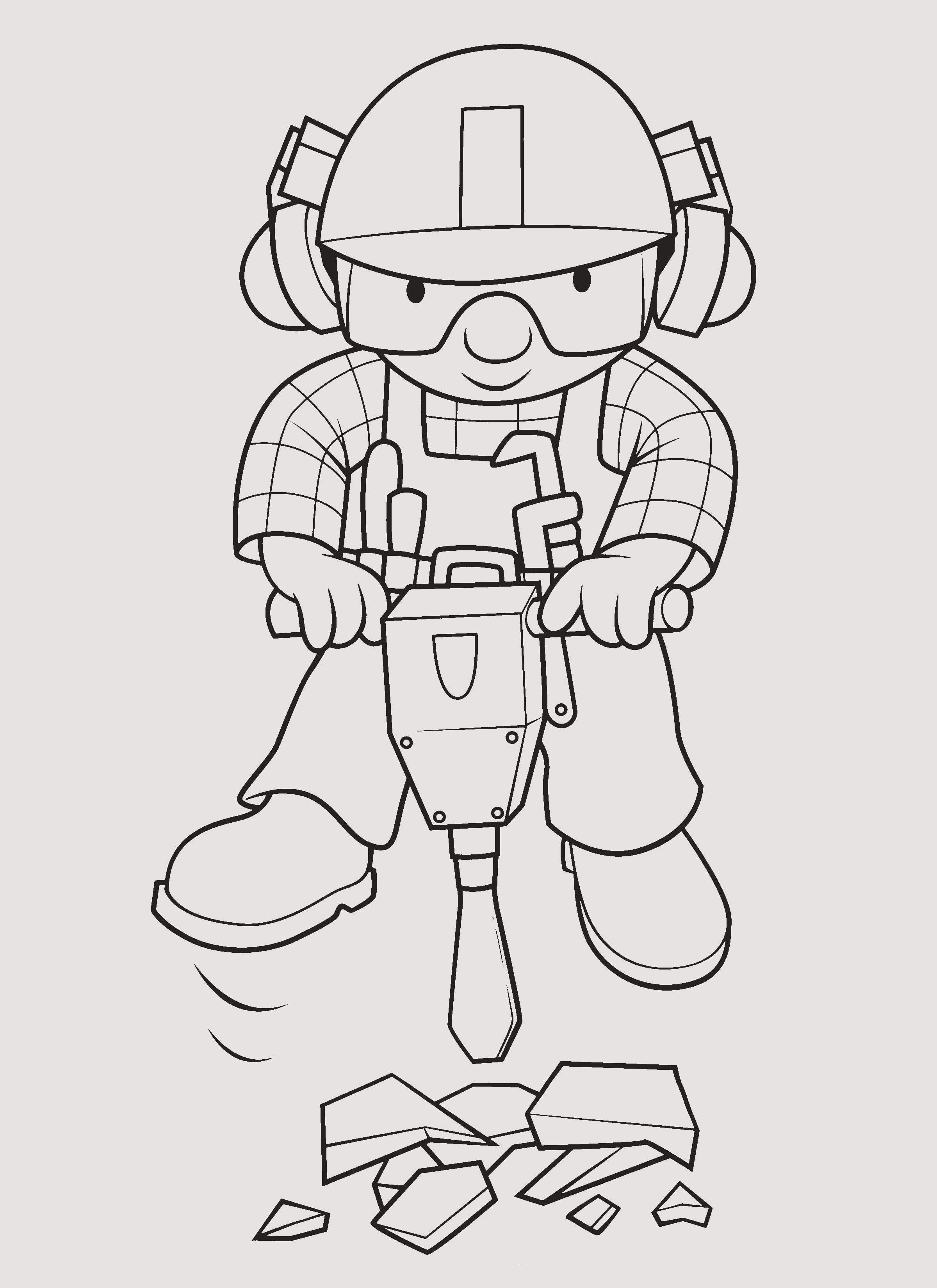 Bob the Builder Coloring Pages Beautiful 30 Frisch Bob Der