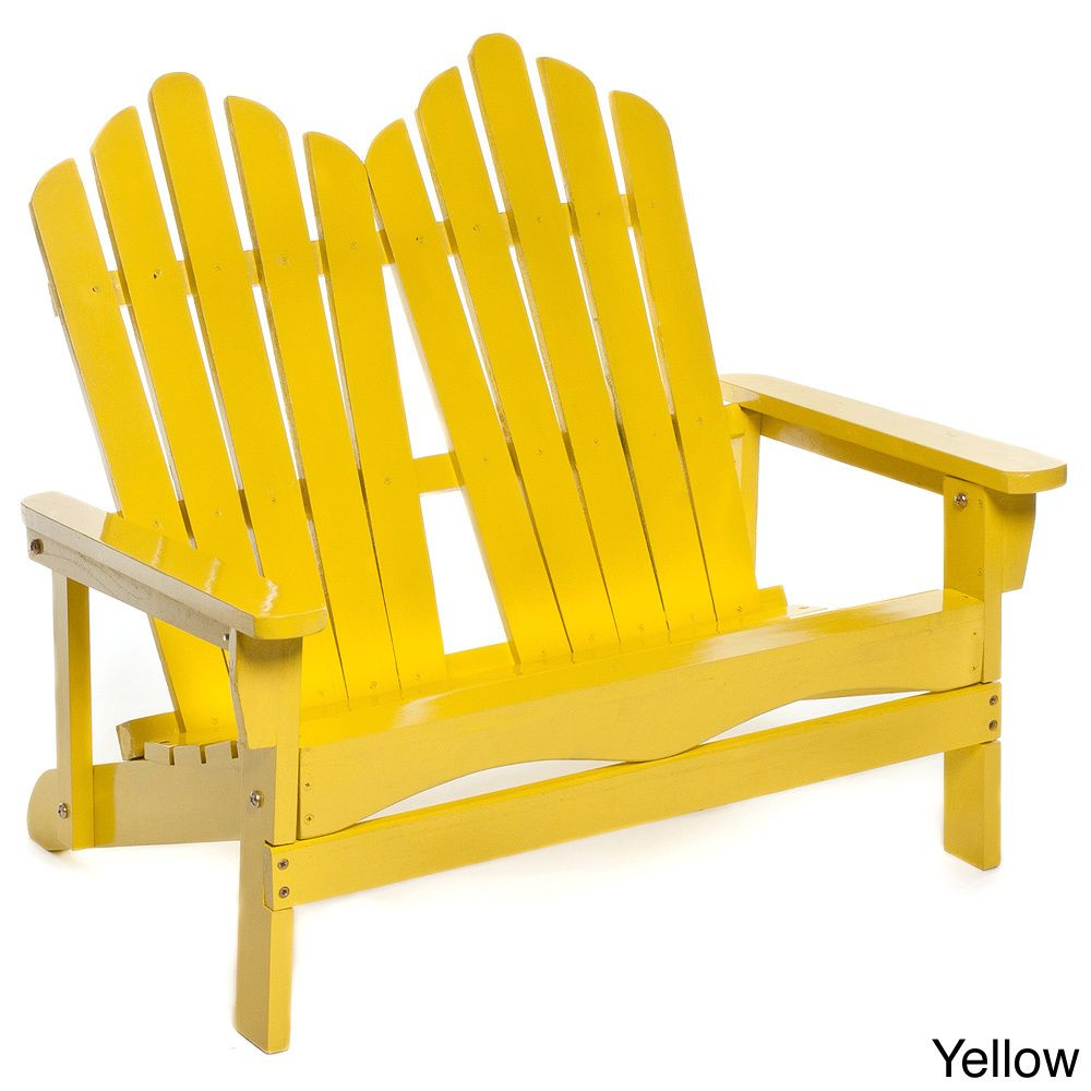 The adirondack double chair is great for kids to hang out in the