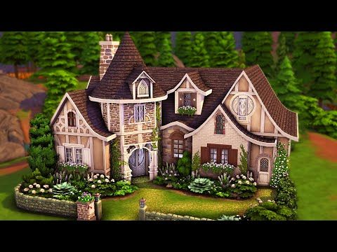 Spellcaster's Cottage   The Sims 4 Speed Build