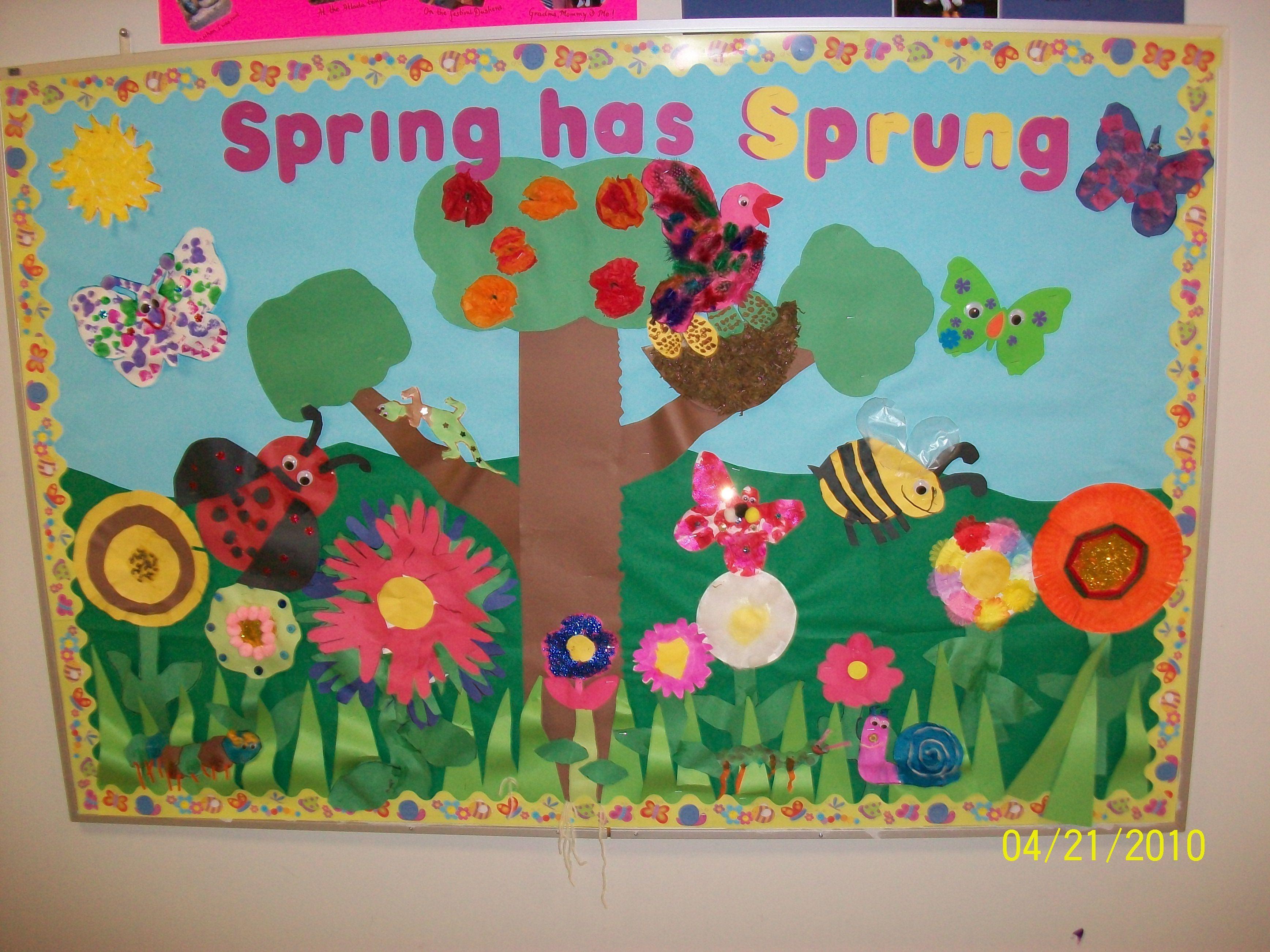 Recursos: Ideas para decorar el aula en primavera | Primavera, El ...