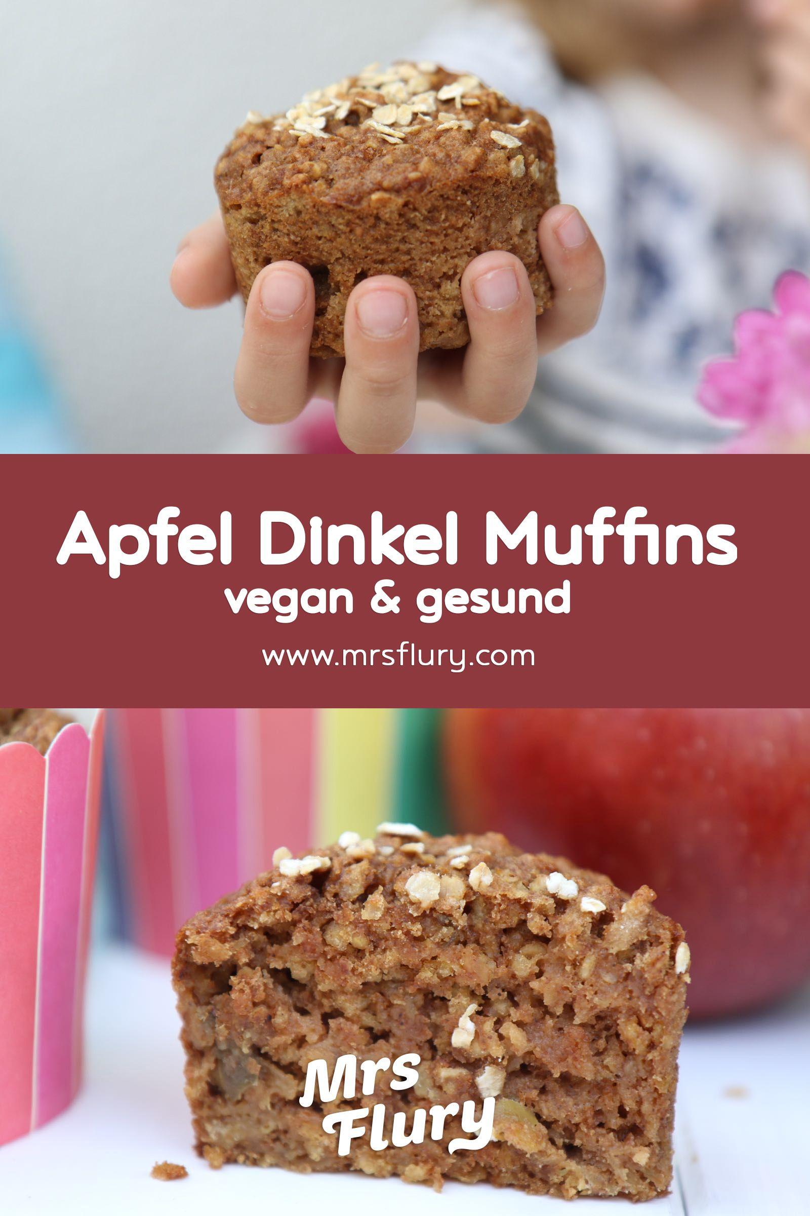 Apfelmuffins   – Party Rezepte – Kindergeburtstag – Deko