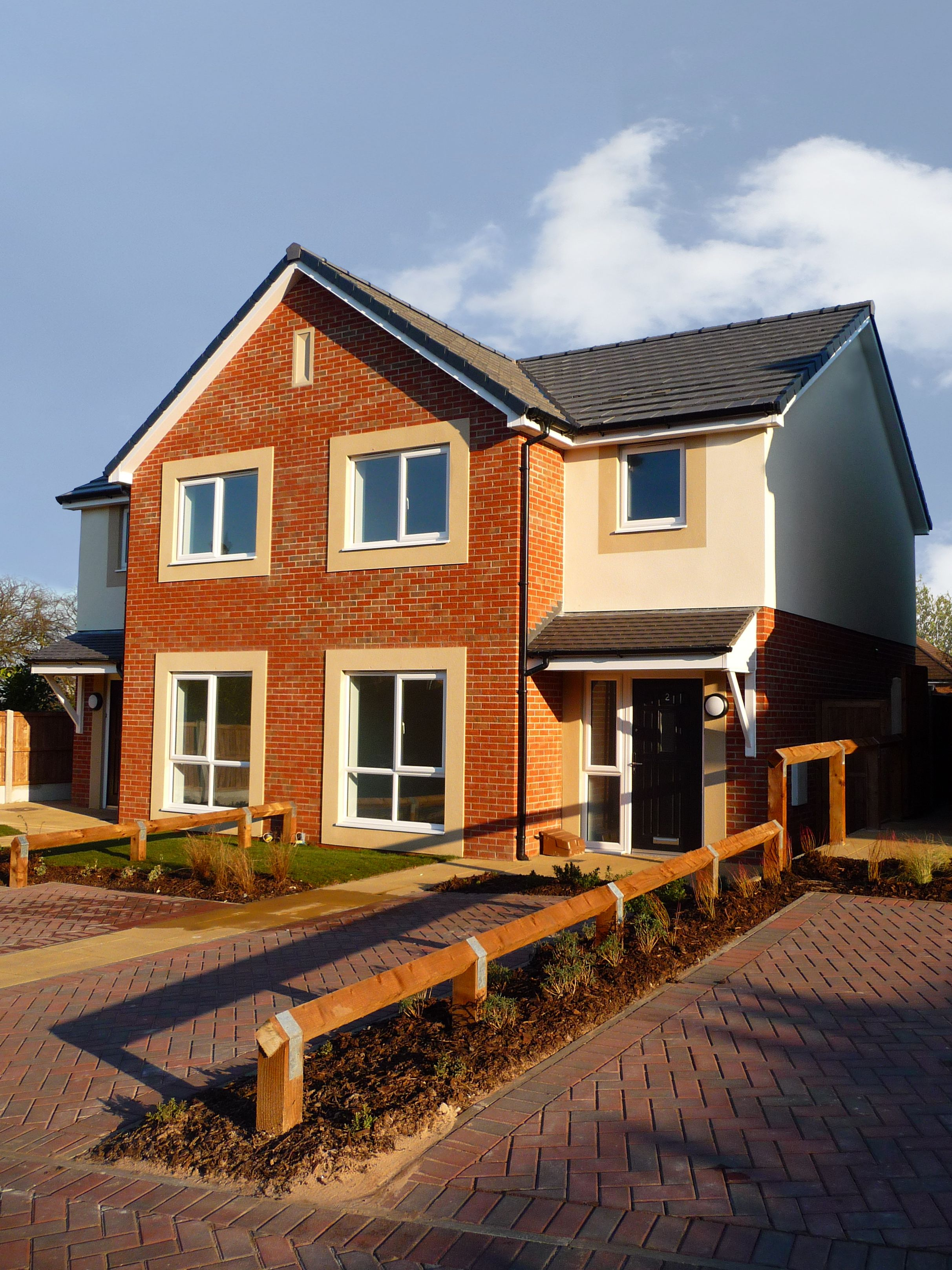 Lodge Farm Runcorn The Scheme Provides 6 Semi Detached Affordable Houses For Shared Ownership On Behalf Of Riv Affordable Housing Social Housing House Styles